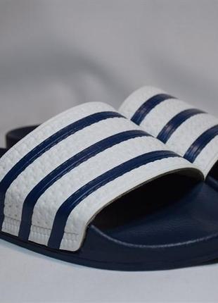 Шлепанцы сланцы adidas originals slippers adilette. италия. оригинал. 45 - 46 р./29.5 см.