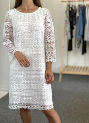 Красивое ажурное платье yessica 44 46