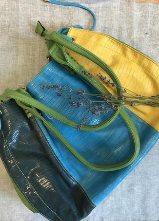 Кольорова сумка