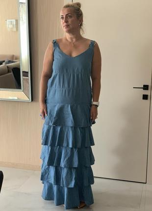 Джинсовое платье twin -set (оригинал)