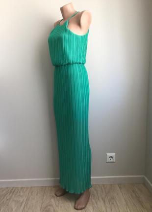 Платье бирюзовое3 фото