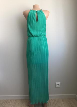 Платье бирюзовое2 фото