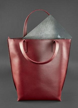 Сумка шоппер d.d. виноград - бордовая