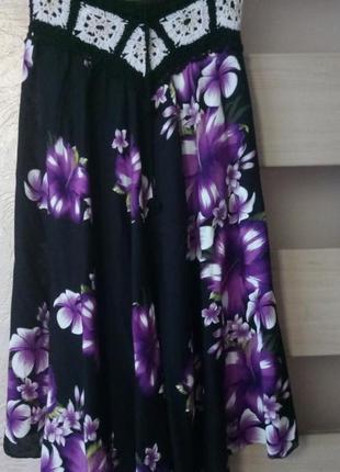 Черная красивая юбка