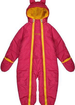 Детский зимний комбинезон для девочки  осенний демисезонный