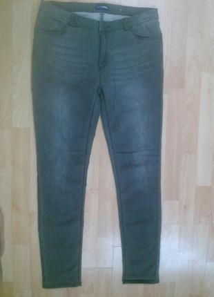 Фирменные трикотажные штаны под джинсы charles voegele