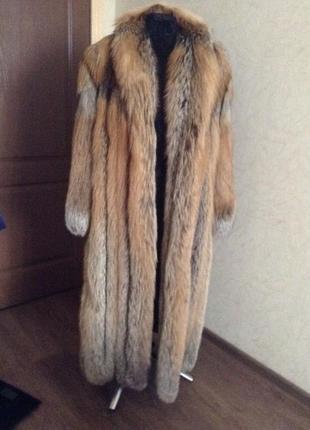 Продаю шубу из арктической лисы