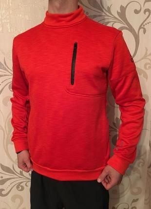 Червона кофта adidas свитер свитшот