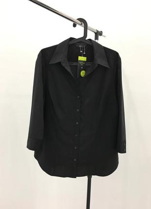 Базовая деловая черная новая рубашка