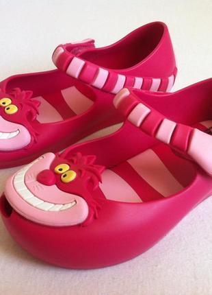 Ультрамодные туфли mini melissa disney с ароматом конфет🔥🔥 р. 9 us (25-26) оригинал ❗❗❗