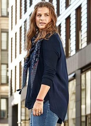 Джемпер блуза размер 54-56 наш tchibo тсм
