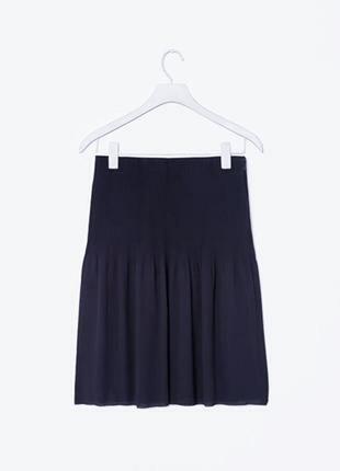 Обалденная фирменная шифоновая юбка миди
