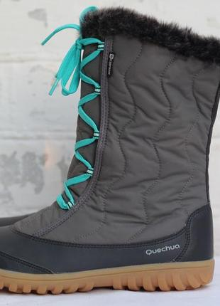 Женские термо сапоги sh500 x-warm quechua 39-40