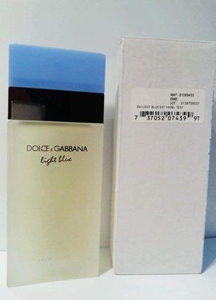 🌺оригинал 🌺100 мл dolce&gabbana light blue туалетная вода
