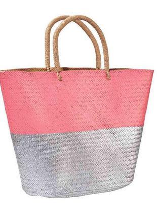 Тренд сезона,эко сумка из натуральной соломы.