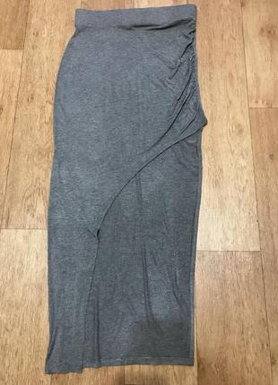 Стильная асимметричная юбка