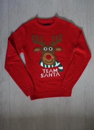 Продается стильный новогодний свитер от angelo letrico