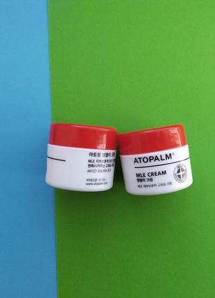 Крем для восстановления защитного барьера кожи atopalm mle cream 8 мл