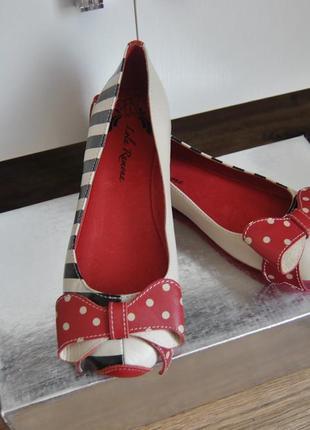 Кожаные балетки lola ramona / шкіряні балетки