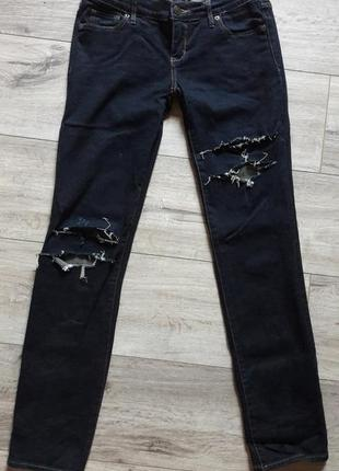 Фирменные джинсы abercrombie&fitch