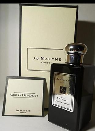 Jo malone oud & bergamot cologne intense 100 ml оригінал -