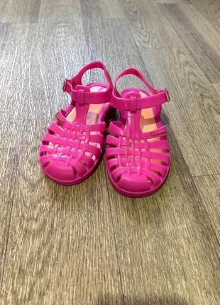 Силиконовые сандалии, босоножки