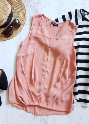 Персиковая блуза.