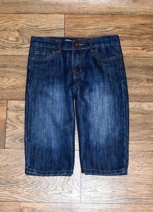 Шорты джинсовые для мальчика 8-9 лет