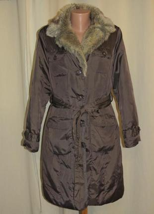 Пальто плащ m&сo размер 14 женское