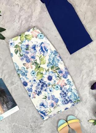 Летняя юбка с ярким принтом  ki1926127  new look