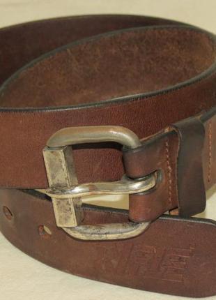 Крутейший ремень rifle belt кожа размер 85 оригинал