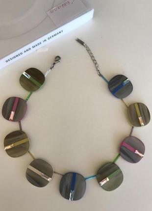 Колье ожерелье swarovski   стильный модный дорогой  бренд coeur de lion