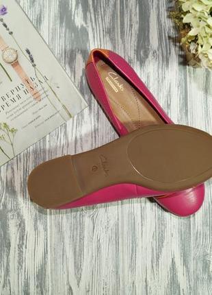 Clarks. фирменные туфли на низком ходу3 фото
