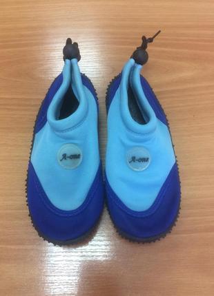 Аквашузы, обувь для кораллов и плавания