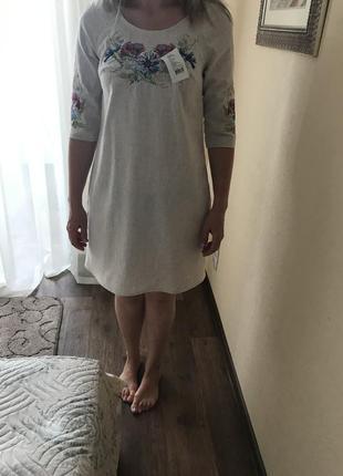 Вышиванка, новая! платье-вышиванка