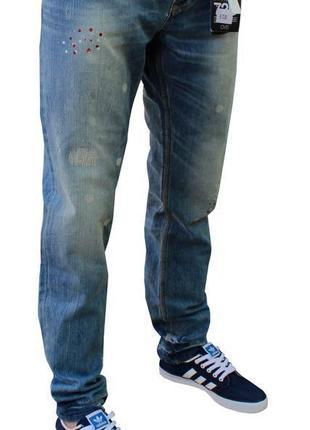 -50% sale / новые стильные крутые джинсы ovs slim denim италия / брюки levis