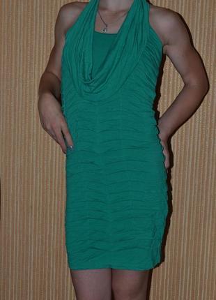 S/36/8 . летнее платье с открытой спиной. boolcat