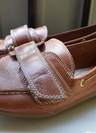 Кожаные туфли мокасины лоферы слипоны