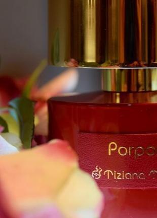 Tiziana terenzi porpora_original extrait de parfum 8 мл_затест
