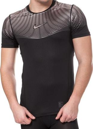 Спортивная компресионая футболка nike pro hypercool max