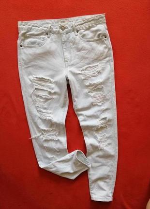 Классные женские рваные джинсы forever21 36 в прекрасном состоянии