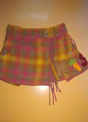 Оригинальная теплая юбка для вашей малышки qilily