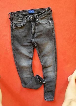 Брендовые мужские джинсы скинни zara 38 в отличном состоянии