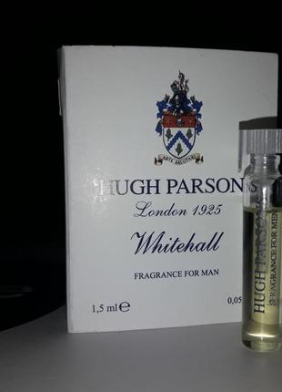 Парфюмированная вода hugh parsons whitehall, фирменный пробник, 1,5 мл