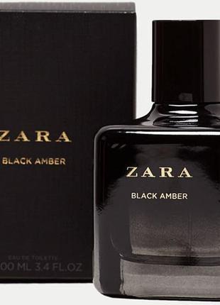 Zara black amber оригинал