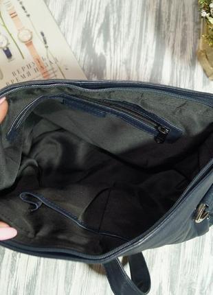 Кожа. классная вместительная сумка высокого качества3 фото