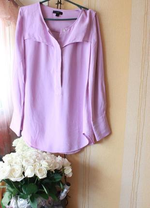 Фиалковая блуза американского бренда j. crew