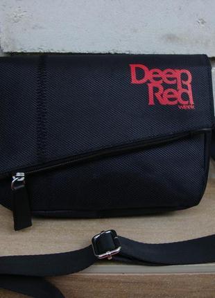 Нова оригінальна багатофункціональна сумка кросбоді deeр red