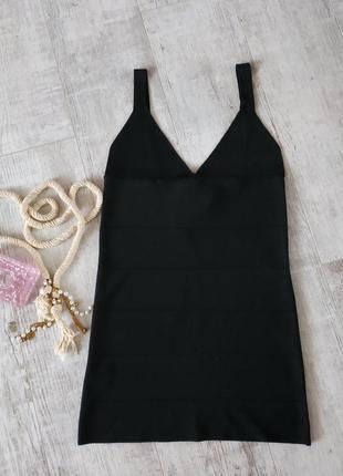 Маленькое сексуальное черное платье от penelope&monica cruz  for mango по фигуре