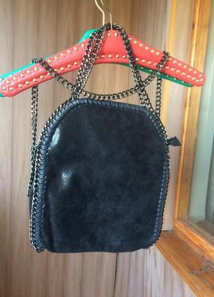 Шикарная сумка с цепями